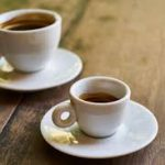 café solo y café doble
