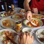 comer con gente