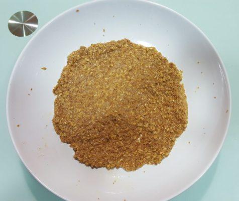 Tortilla de salvado de trigo y lino anti estreñimiento