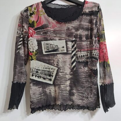 estampado fotos camiseta XL