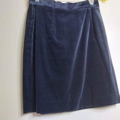 Falda de terciopelo cortefiel